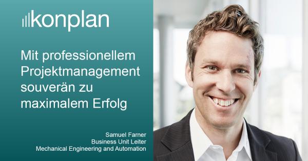 Projektmanagement bei konplan: Erfolg und Effizienz durch einen professionellen Projektmanagement-Prozess!