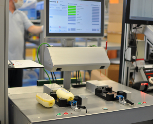 Testsystem für Medizinprodukt